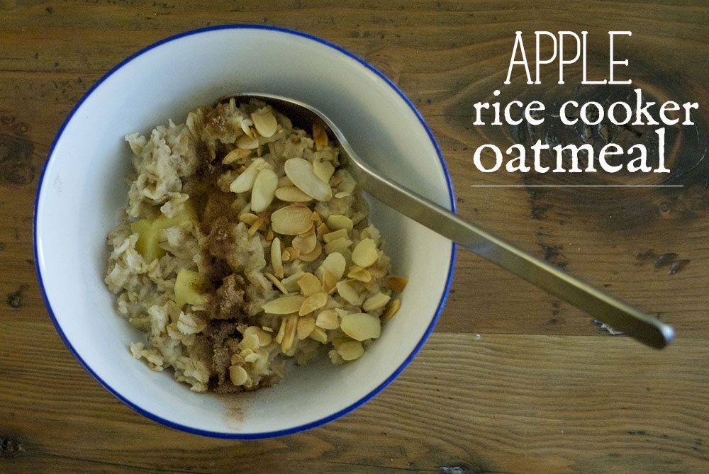 On Treehouse: Rice cooker apple oatmeal